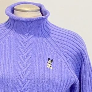DALE OF NORWAY Disney Wool Cashmere Knit Sweater